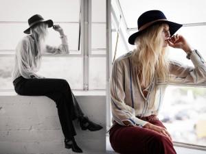 Janessa Leone Chapeaux Mode in USA