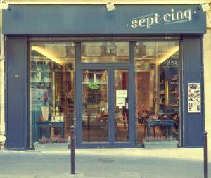 Le Sept Cinq Concept Store Paris 9eme