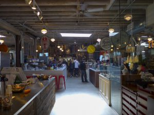 Inside Gansevoort Market New York