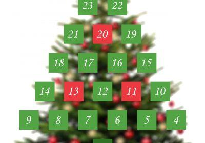 Calendrier de l'avent - Advent Calendar