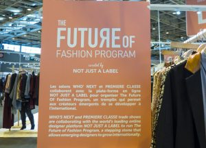 Future of Fashion by Not Just A Label