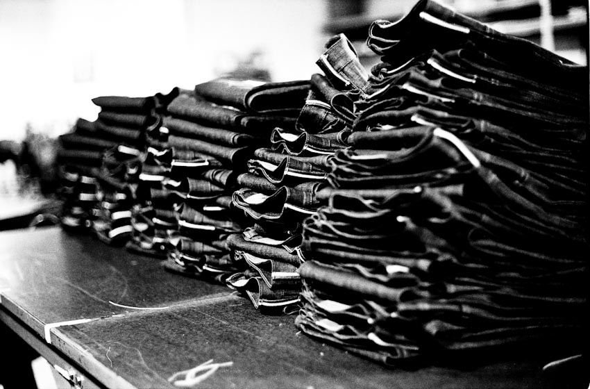 Raleigh Workshop Jeans B&W