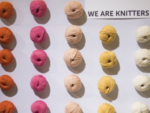 Choix de couleurs We are Knitters