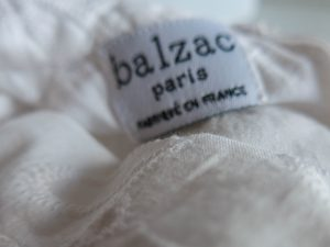 Balzac shirt detail Made in France