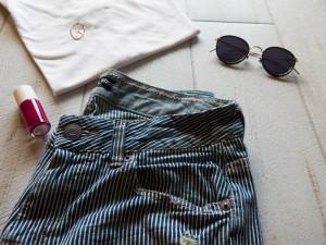 Lunettes Eyevan et vernis Nailmatic, look slow fashion et mode éthique