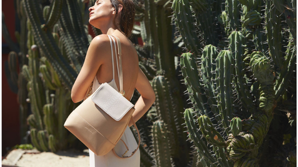 Freedom of animal vegan bag sustainable fashion mode durable
