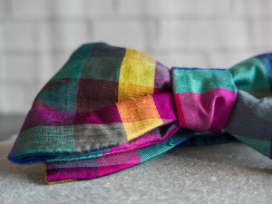 Slow Fashion Bowtie designed by L'escalier d'argent