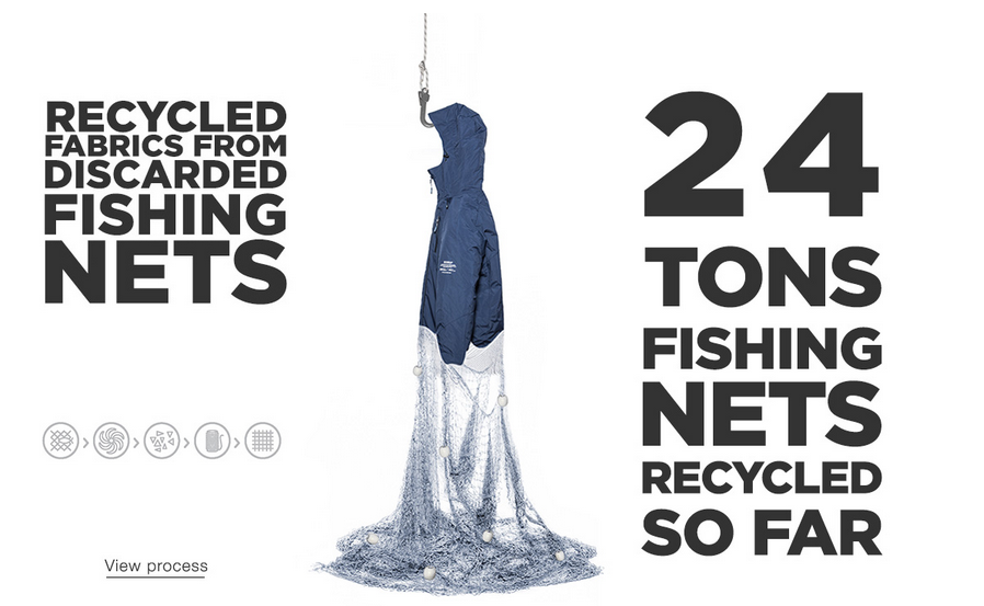 Ecoalf recycled fishnets sustainable fashion
