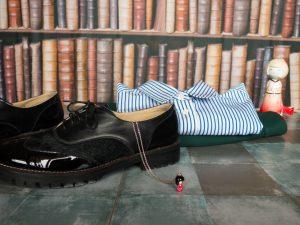 Maurice Manufacture derbies noire tenue