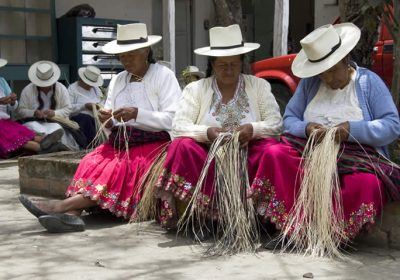 Women Panama Hat Weavers Pachacuti Fair Trade Fair Fashion