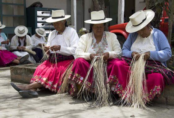 Women Panama Hat Weavers Pachacuti Fair Trade Fair Fashion