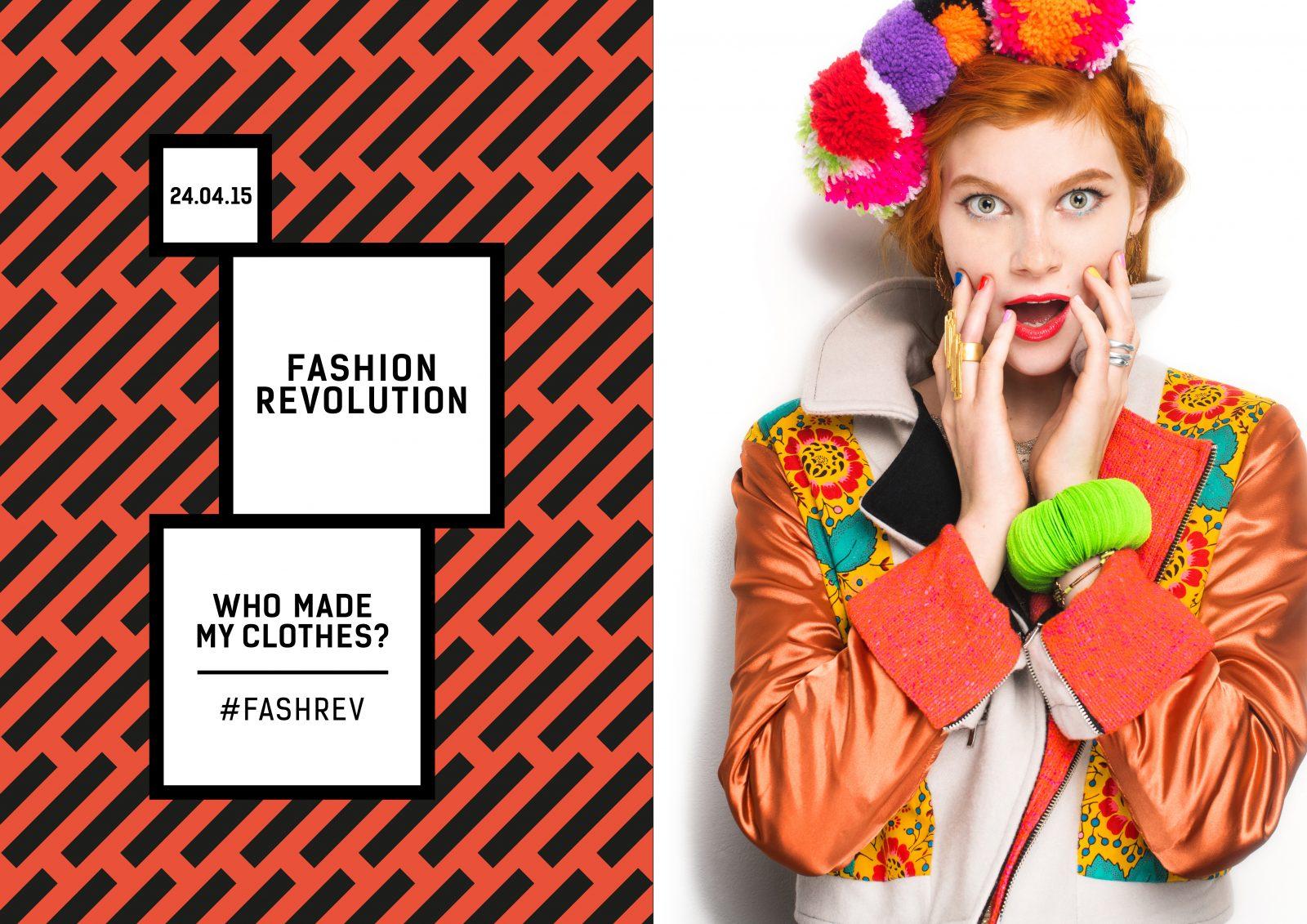 Fashion Revolution Day Poster 24 april 2013 Rana Plaza