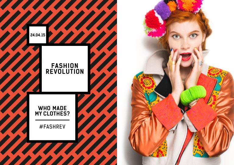 Fashion Revolution Day Poster 24 april 2013 Rana Plaza