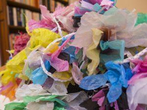 Les filles du facteur recyclage sac plastiques Fashion Revolution Day