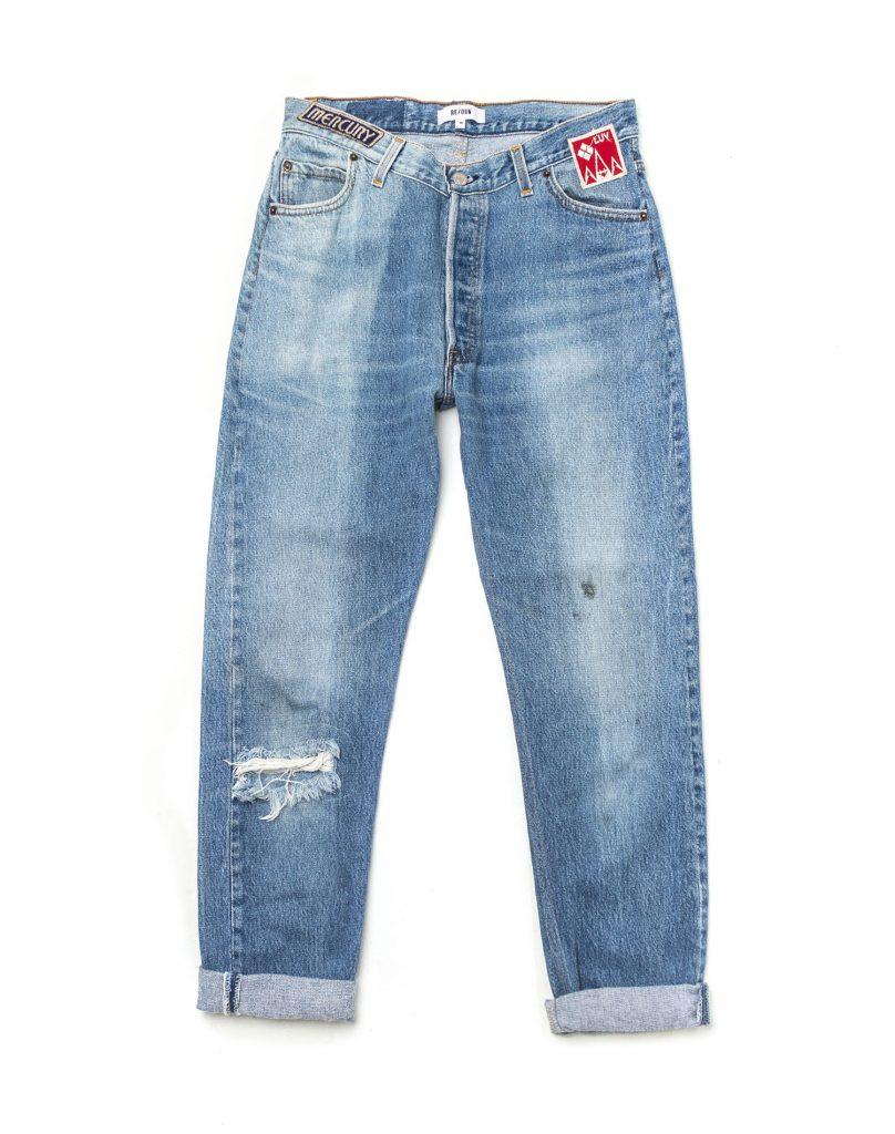 Redone Redun Patch Jean Denim Vintage Levis