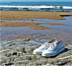 Maurice Manufacture SS15 made in France shoes chaussures derbies plage beach