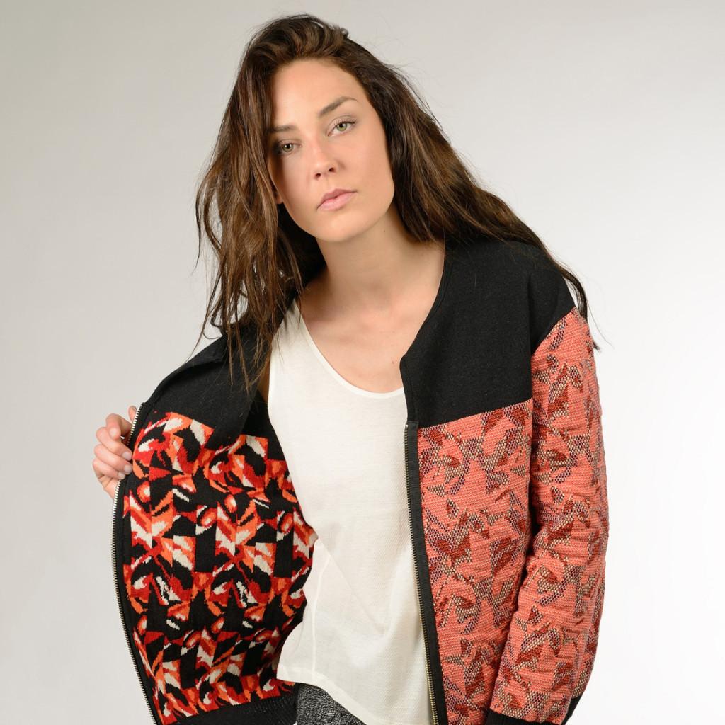 Post Diem jacket Dicomano eco friendly made in France