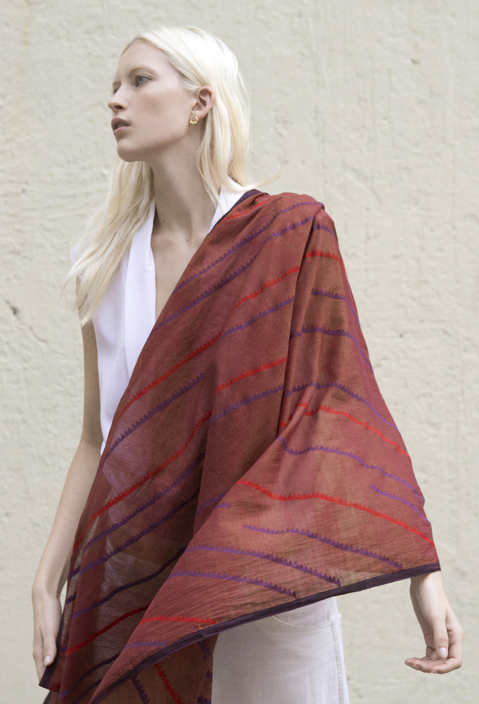 A Peace Treaty Wavu Scarf Artisans Fair Fashion