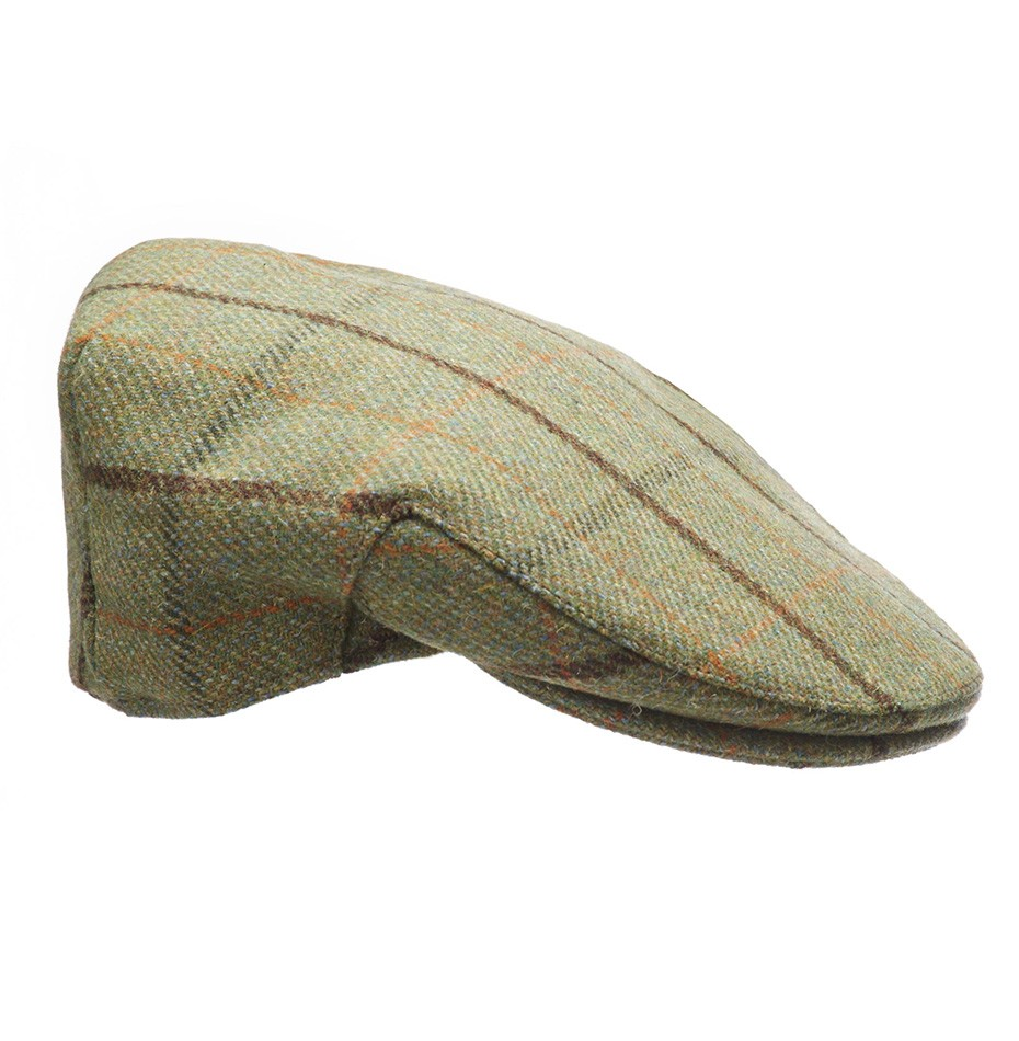 Private White VC country cap lancashire tweed fête des pères