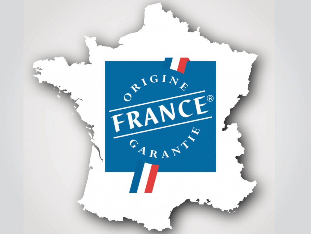 Origine France garantie label Made in France