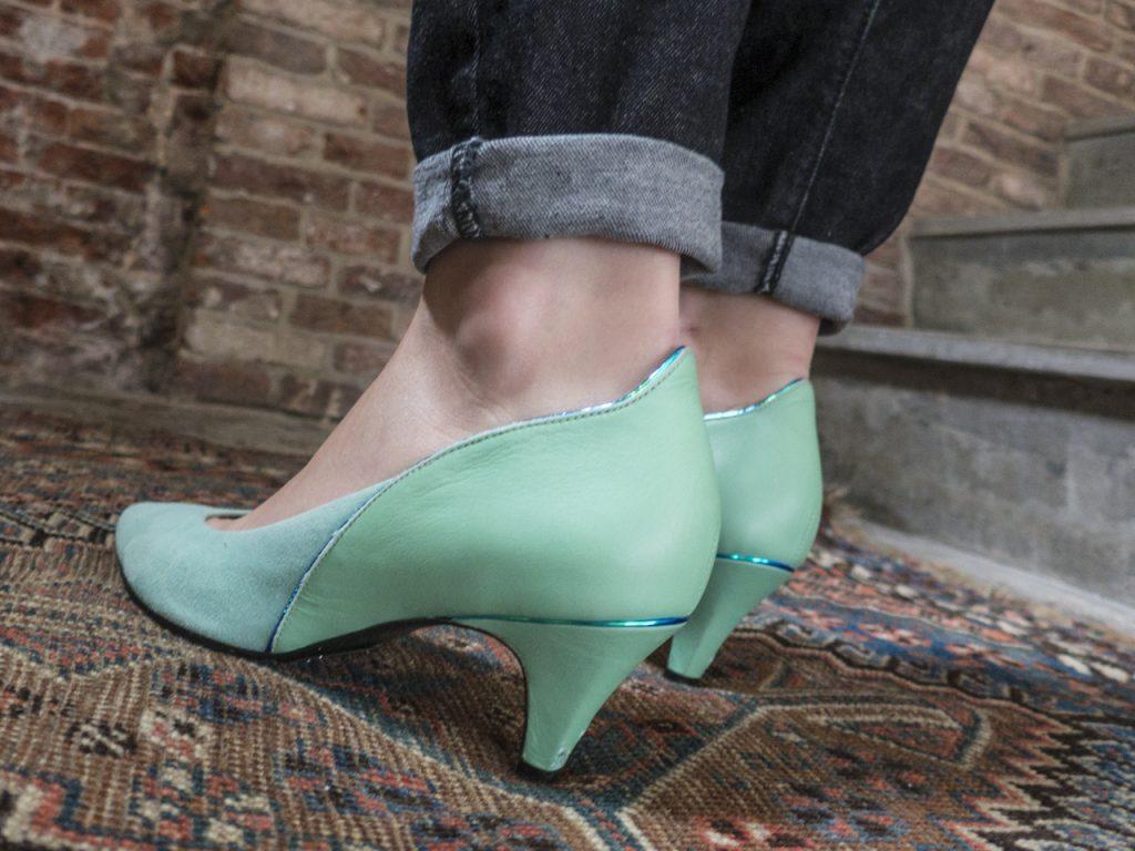 kitten heels ateliers tersi gontran cherrier mint