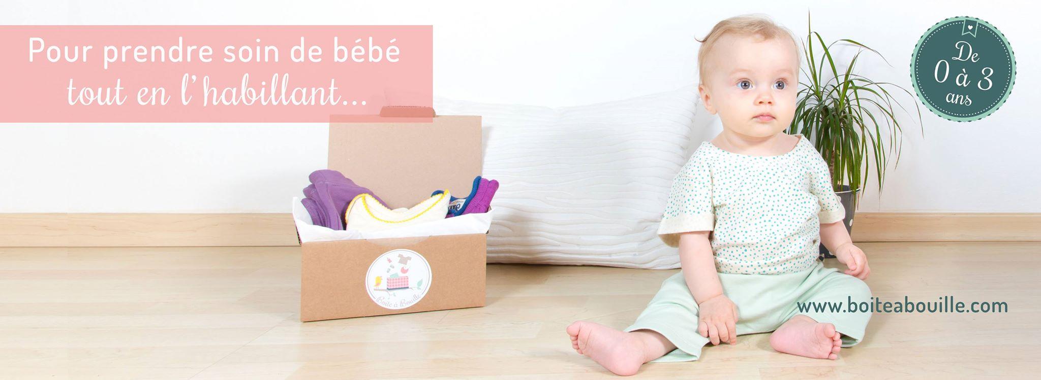 boite à bouille vêtements bébés écologiques