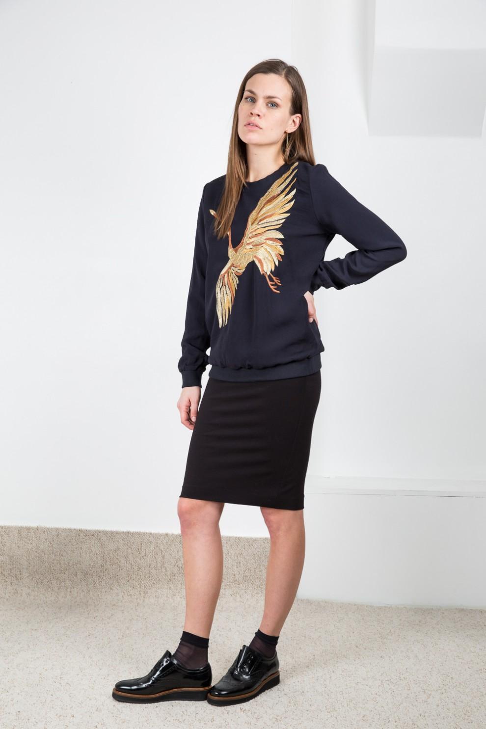 Valentine Gauthier Kendrick sweater bird