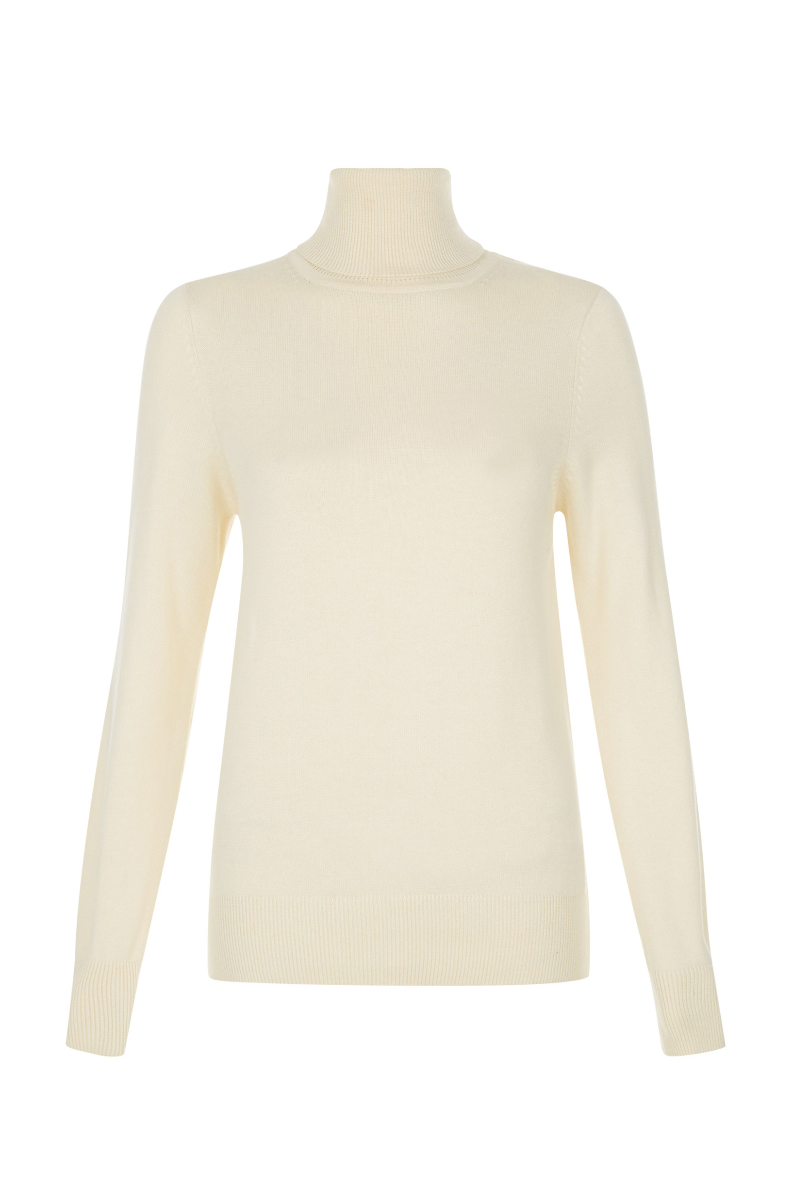 People Tree Rashida Roll Neck Jumper Organic Cotton