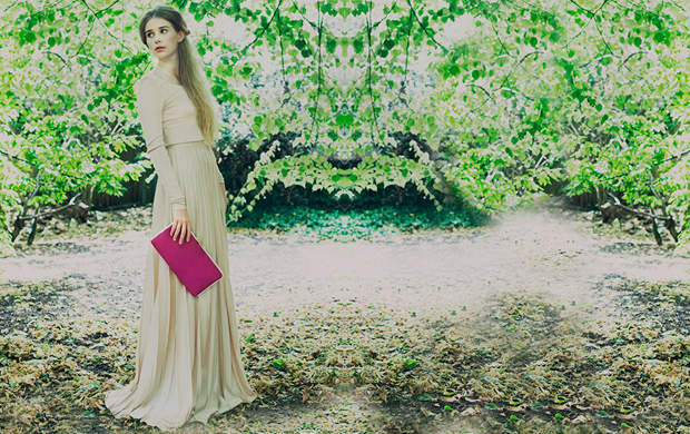 Wilby Clutch Made in UK Vegan Fashion