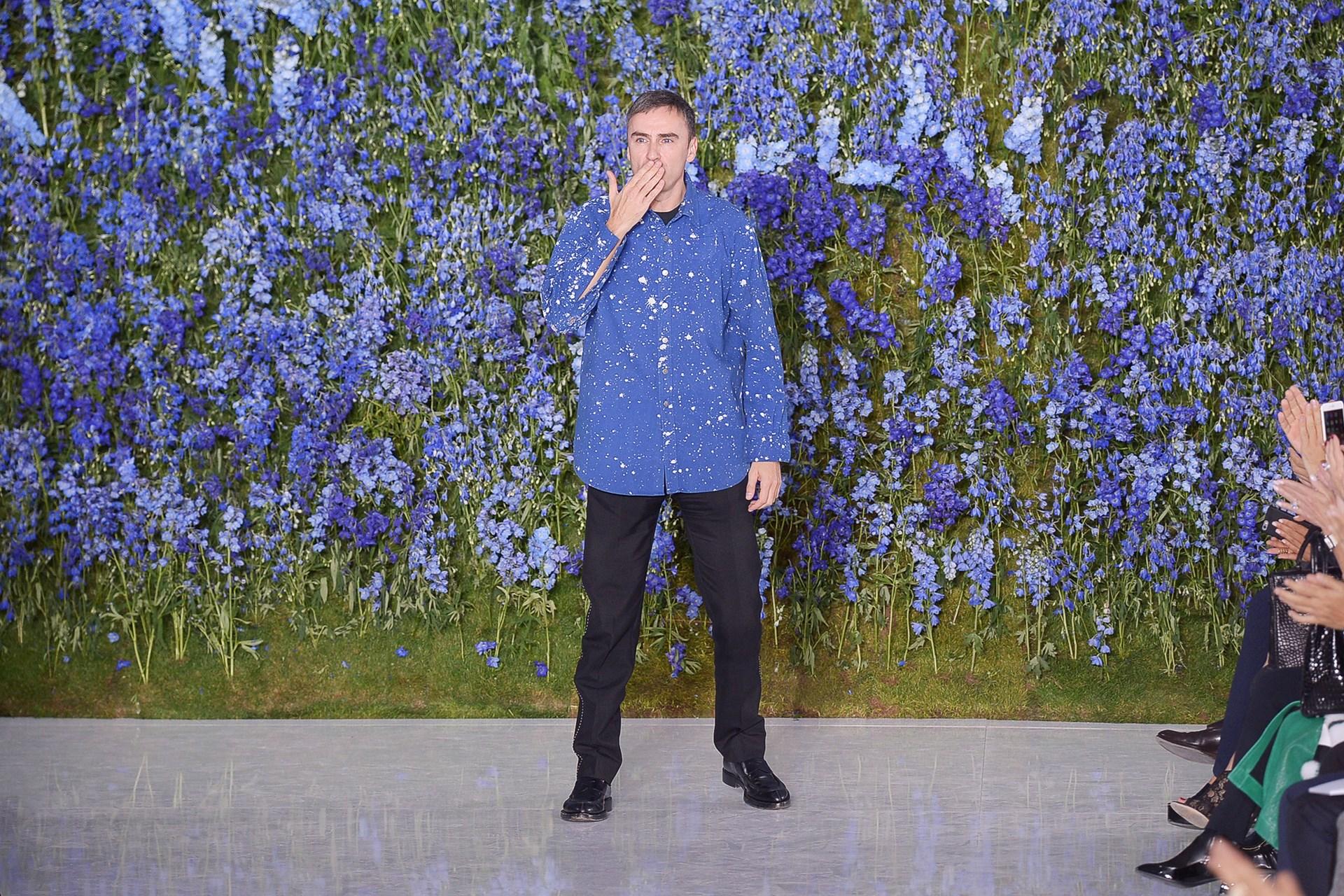 Raf Simons Dior Vogue