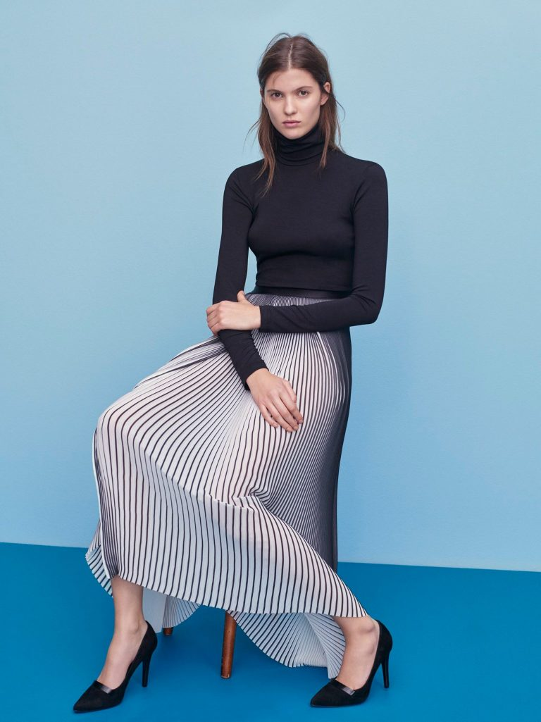 Filippa K Plissé skirt ethical fashion mode responsable