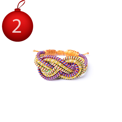 2 décembre avent advent Sequence Collection bracelet