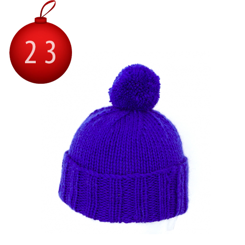 23 décembre North Circular Bobble Hat Granny Made in Uk