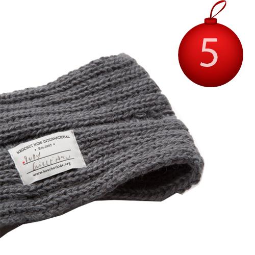 5 décembre Krochet Kids Headband wool social business
