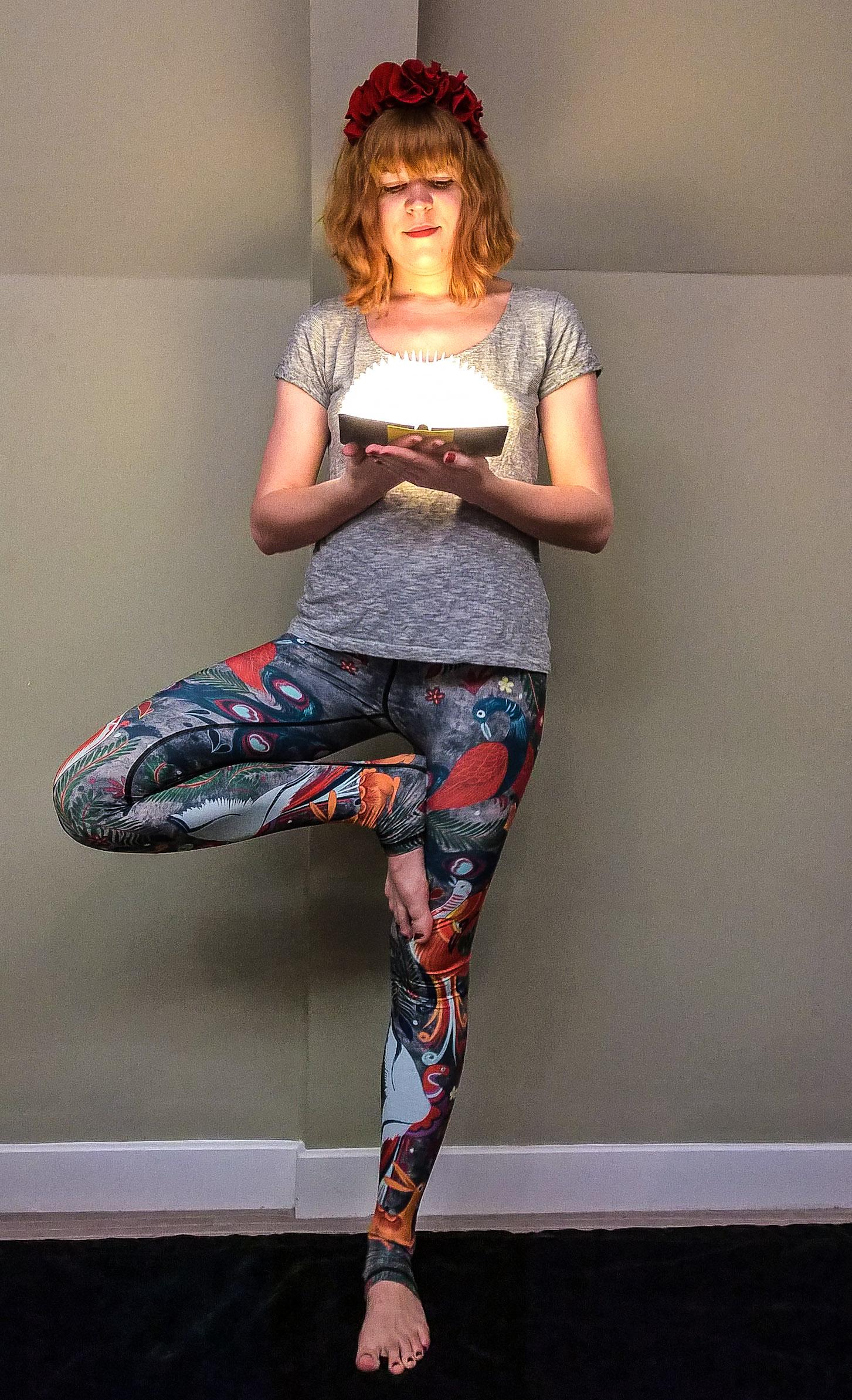 bonnes résolutions hatha yoga democracy tree pose ethical activewear
