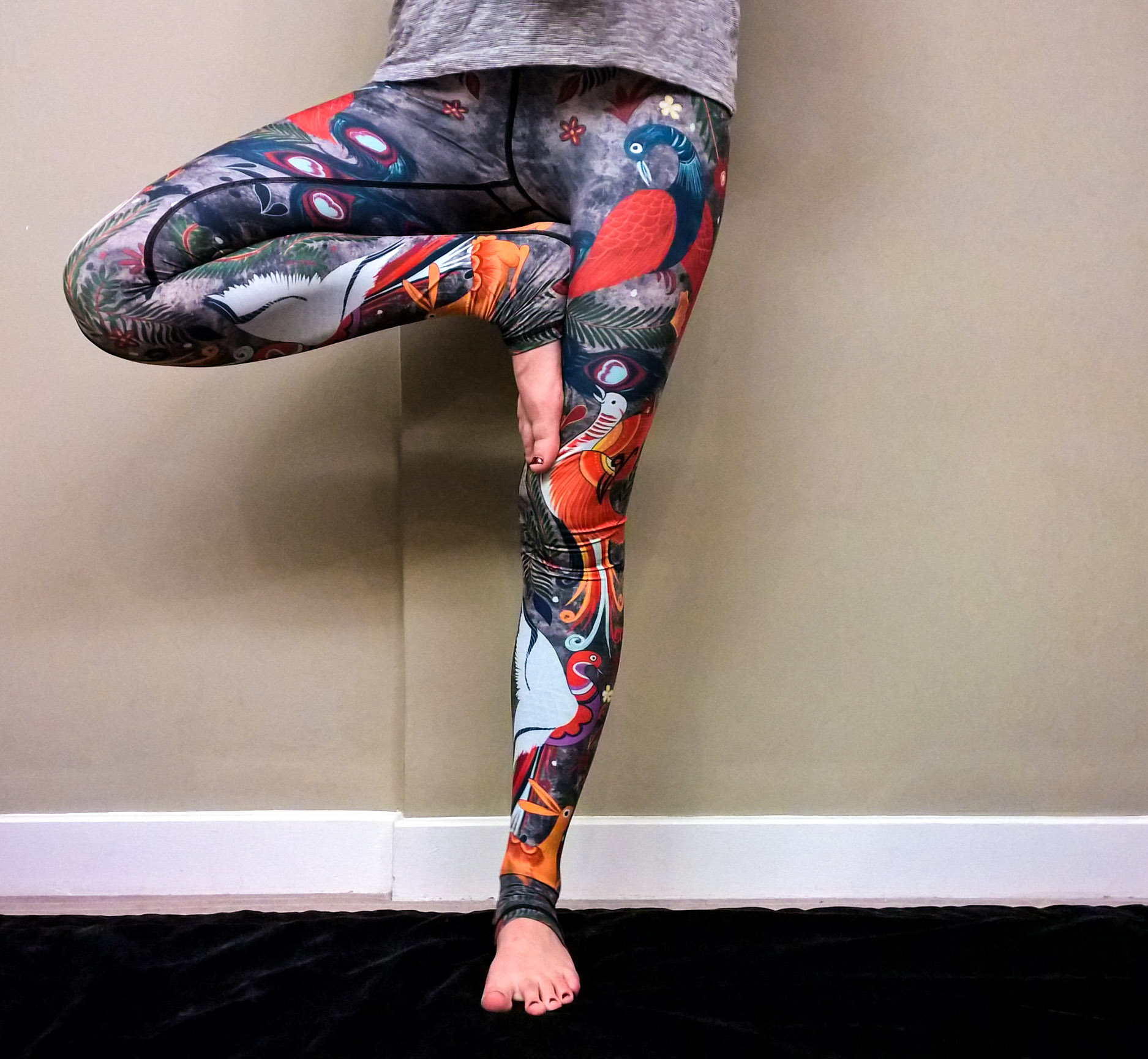 yoga democracy legging ethical activewear tree bonnes résolutions