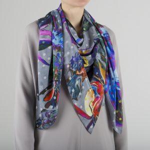 Iris scarf Age of reason St Valentin