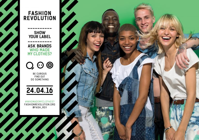 Fashion Revoltuion Day Rana Plaza poster 24 avril