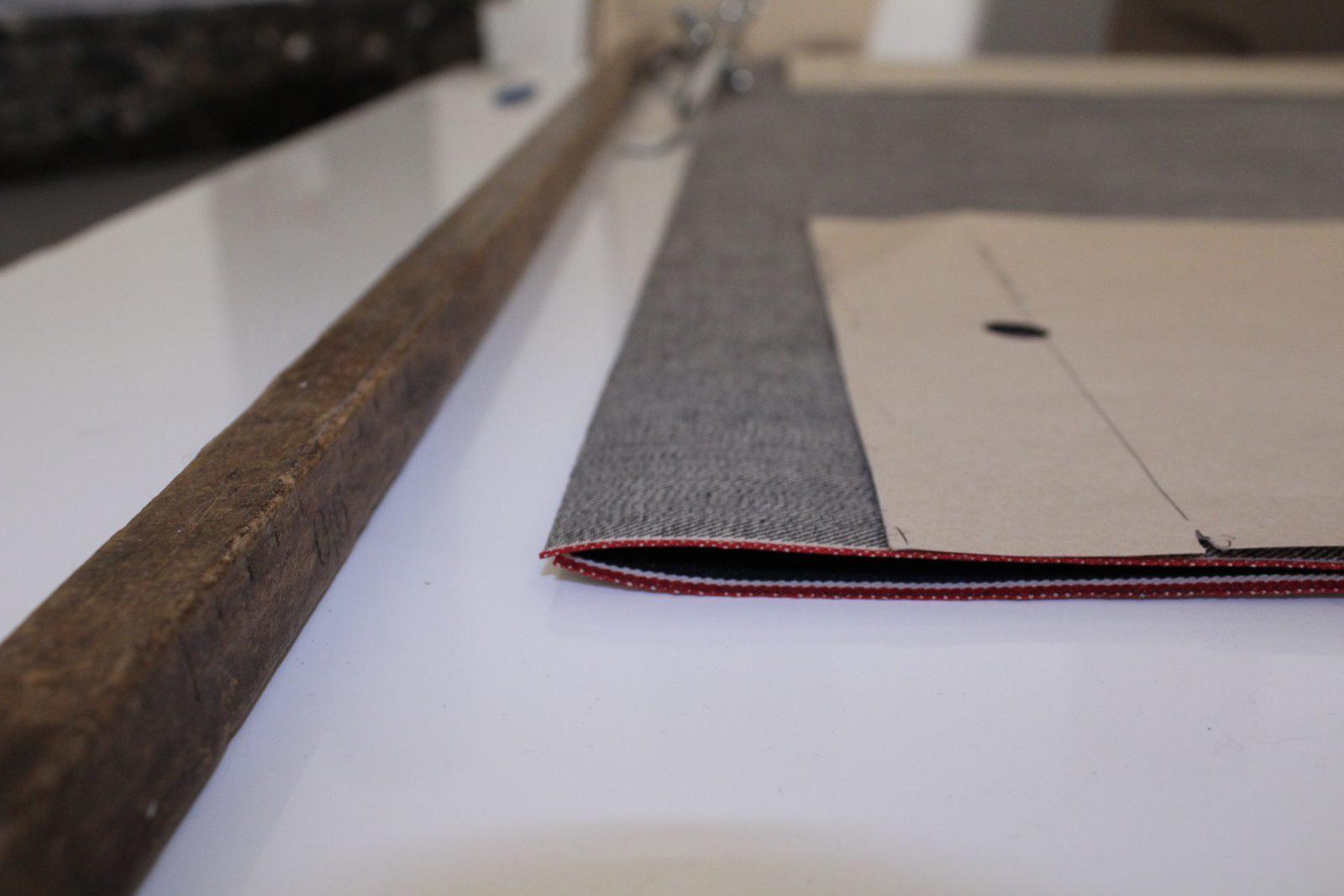 Ateliers de Nîmes denim fabrication artisanale