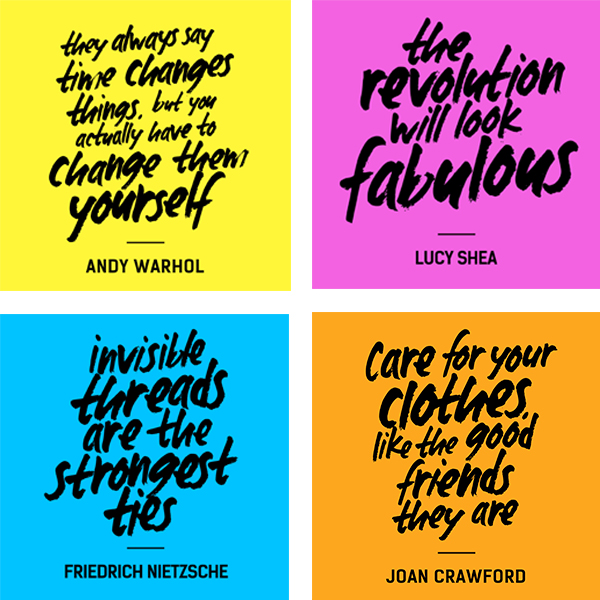 Fashion Revolution Day Whomademyclothes Quotes