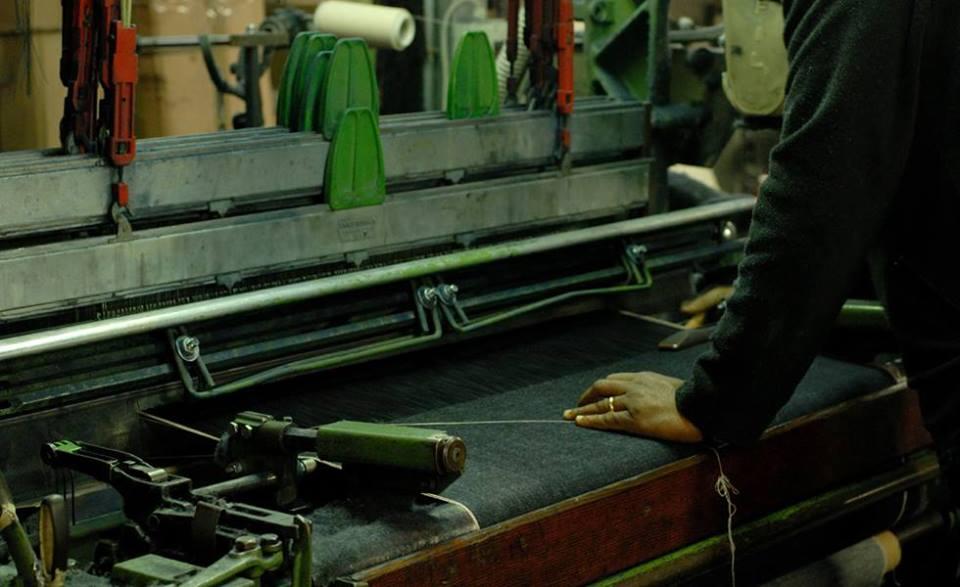 Ateliers de Nîmes denim jean made in Franc handcratefd