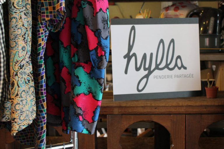 Hylla penderie partagée new concept renting