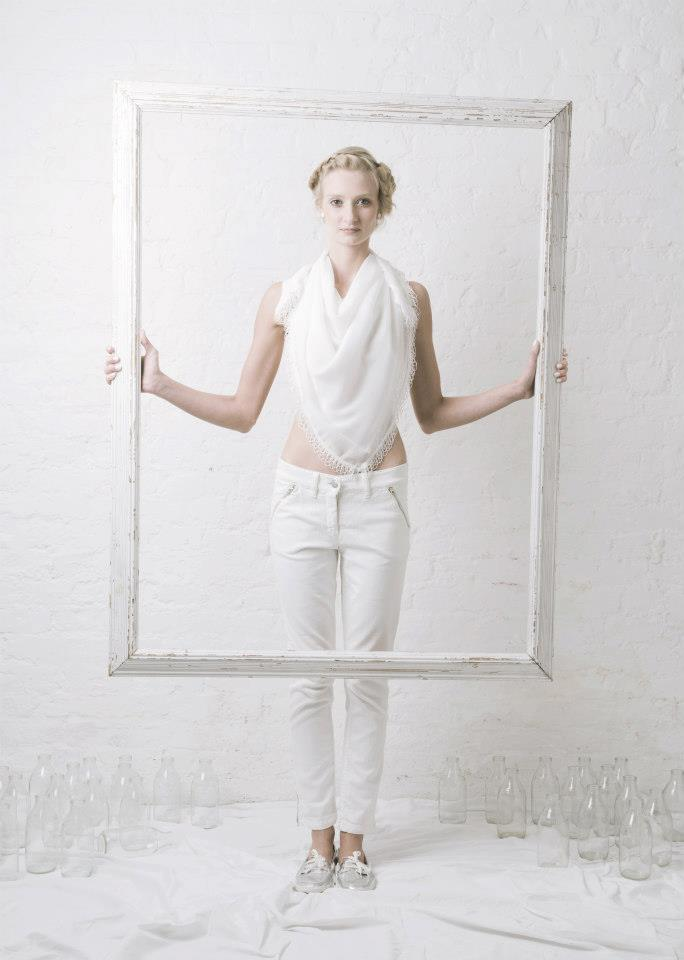 Outsider fashion organic sustainable white