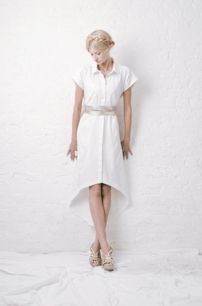 outsider maxi shirt dress organic cotton sustainable fashion