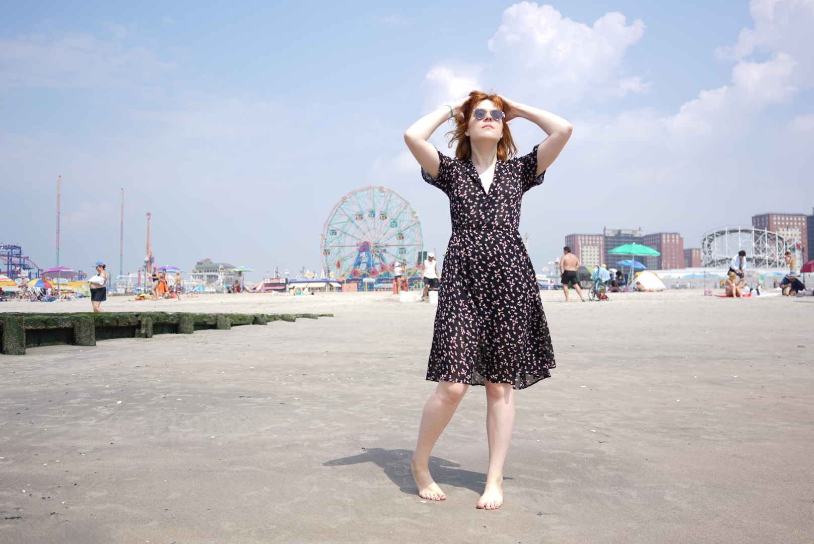 Coney Island Brooklyn Reformation Look dress