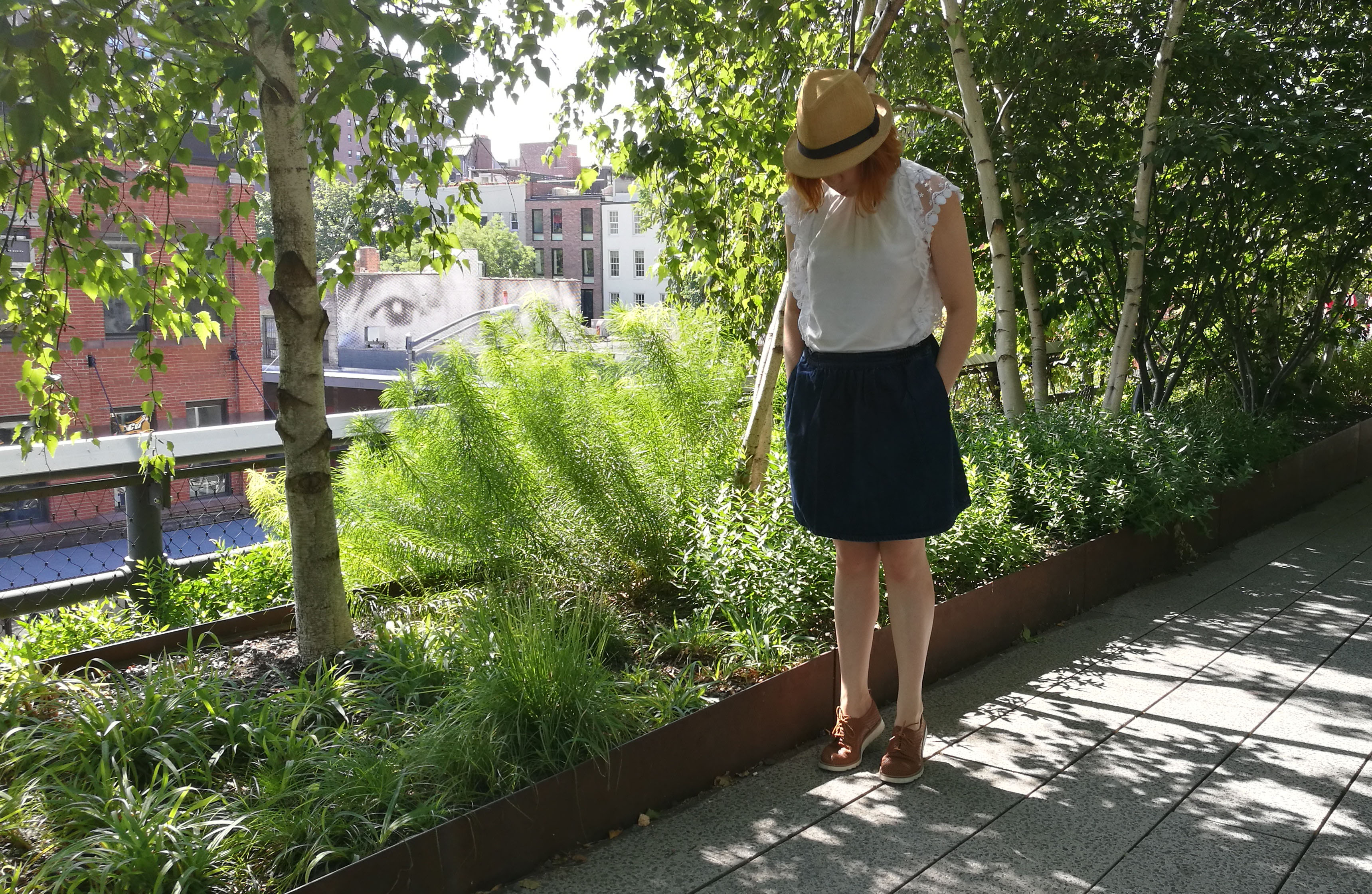 look meatpacking high line nyc ootd