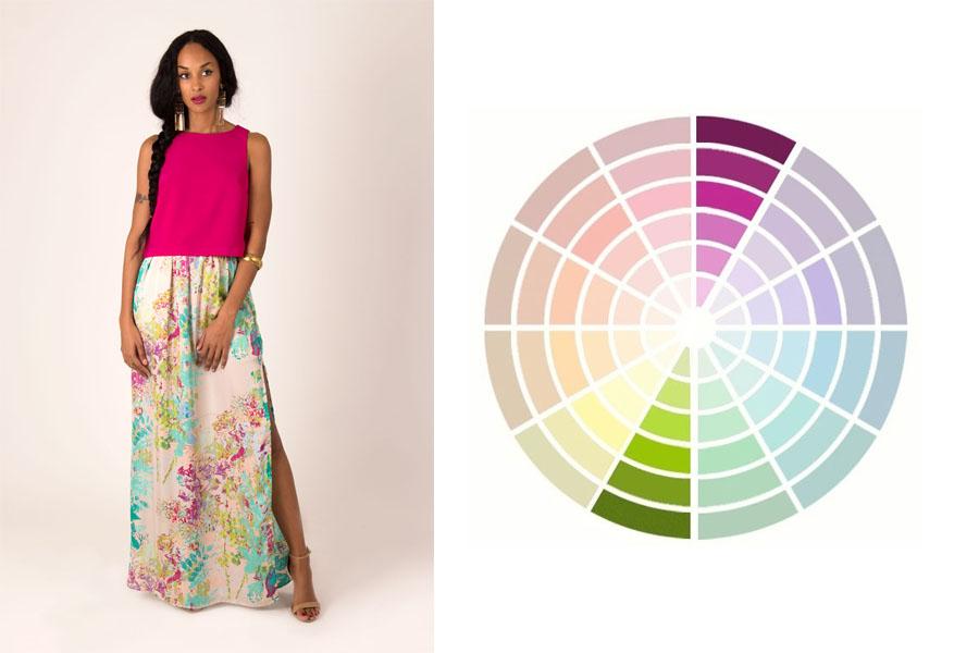 Laure Derrey conseil en image colorimétrie complémentaire