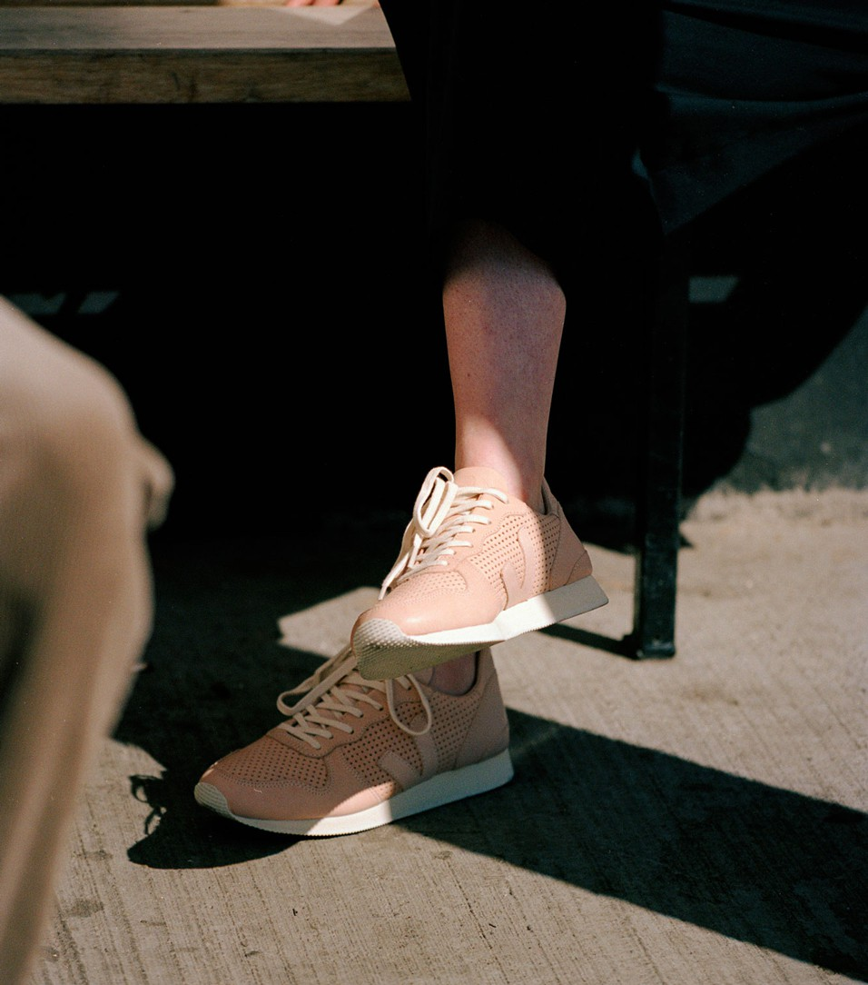 Veja Holiday Sneakers leather fair trade
