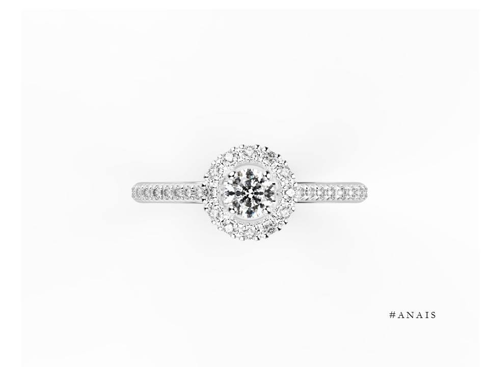 jem jewellery sur mesure bague de fiançailles