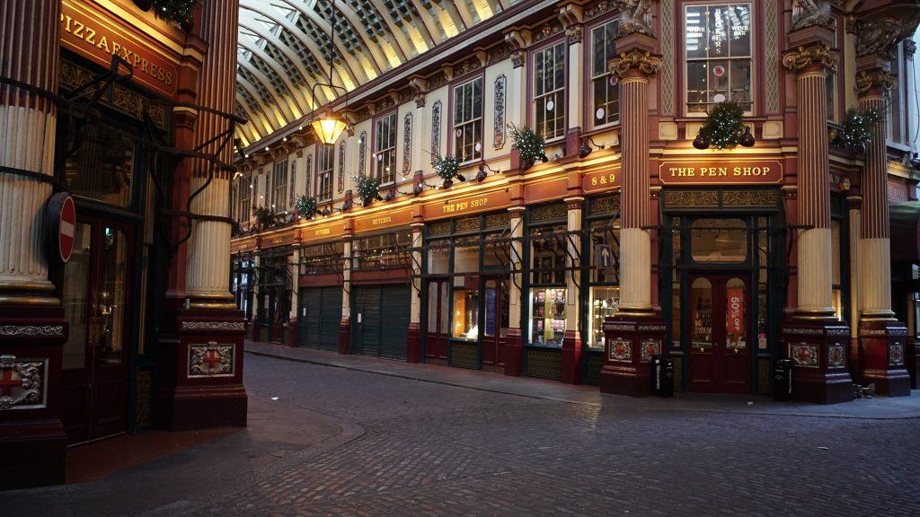 leadenhall market london so british diagon alley harry potter